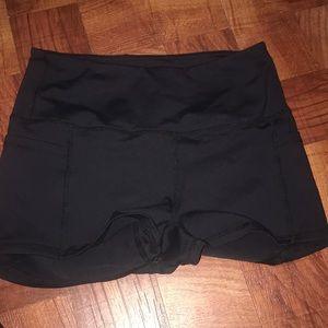 BuffBunny Shorts - Buff bunny large yoga shorts